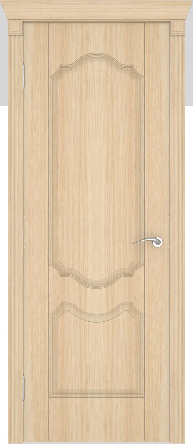 металлические двери шпон беленый дуб